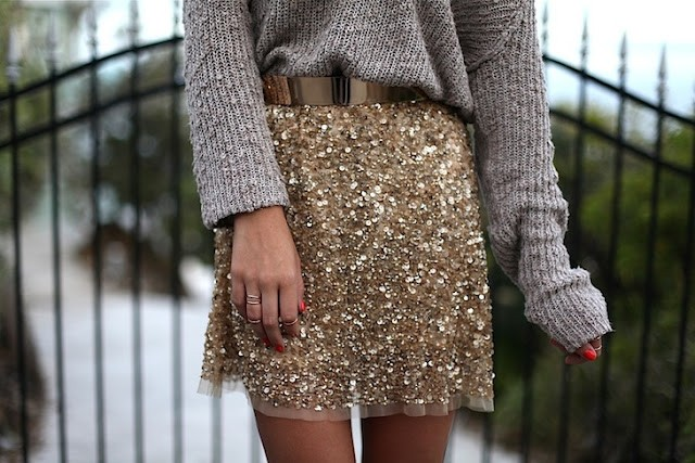 In need of sequins