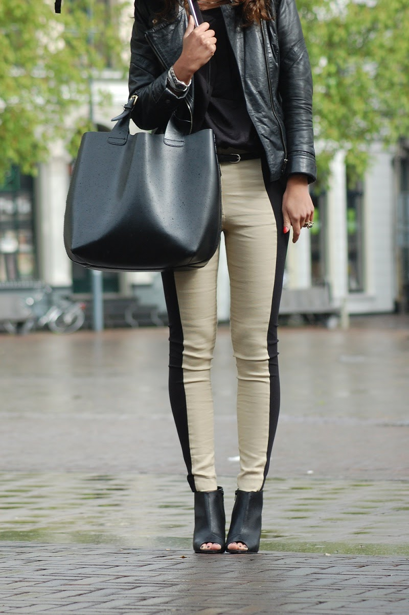 Two-toned pants