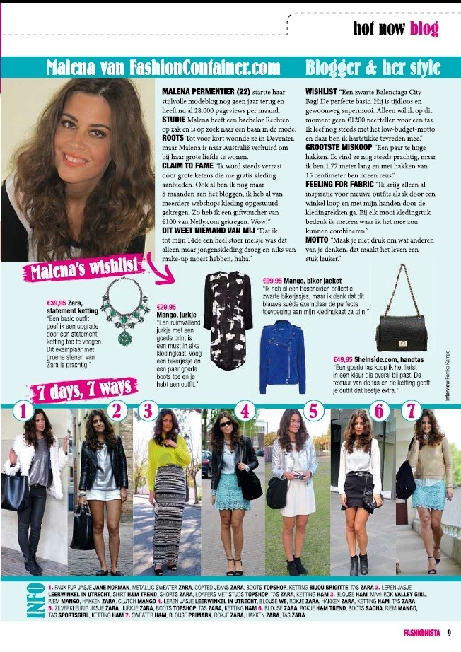 I'm in Fashionista magazine!