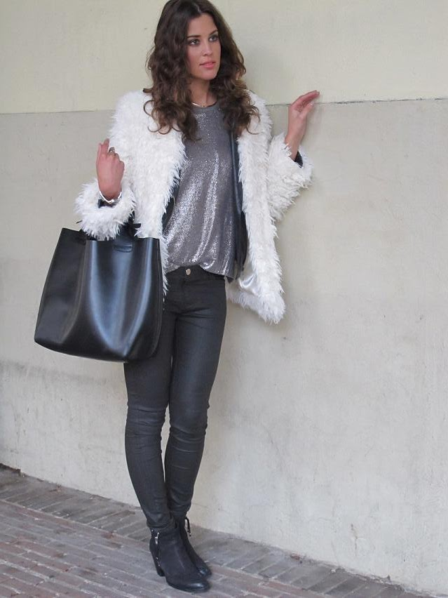 Metallic & Faux Fur
