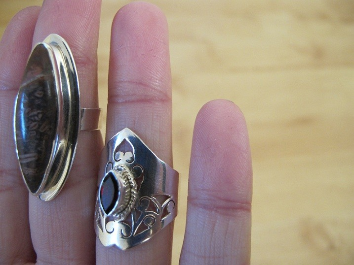 New: Silver Rings