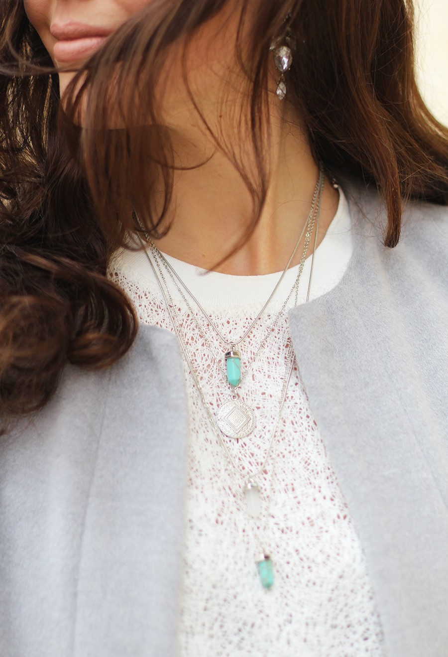 silver-layered-necklace