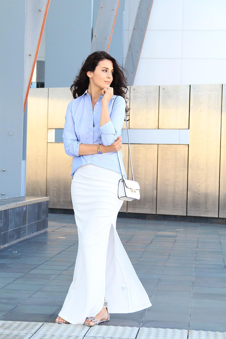 white-asymmetric-skirt