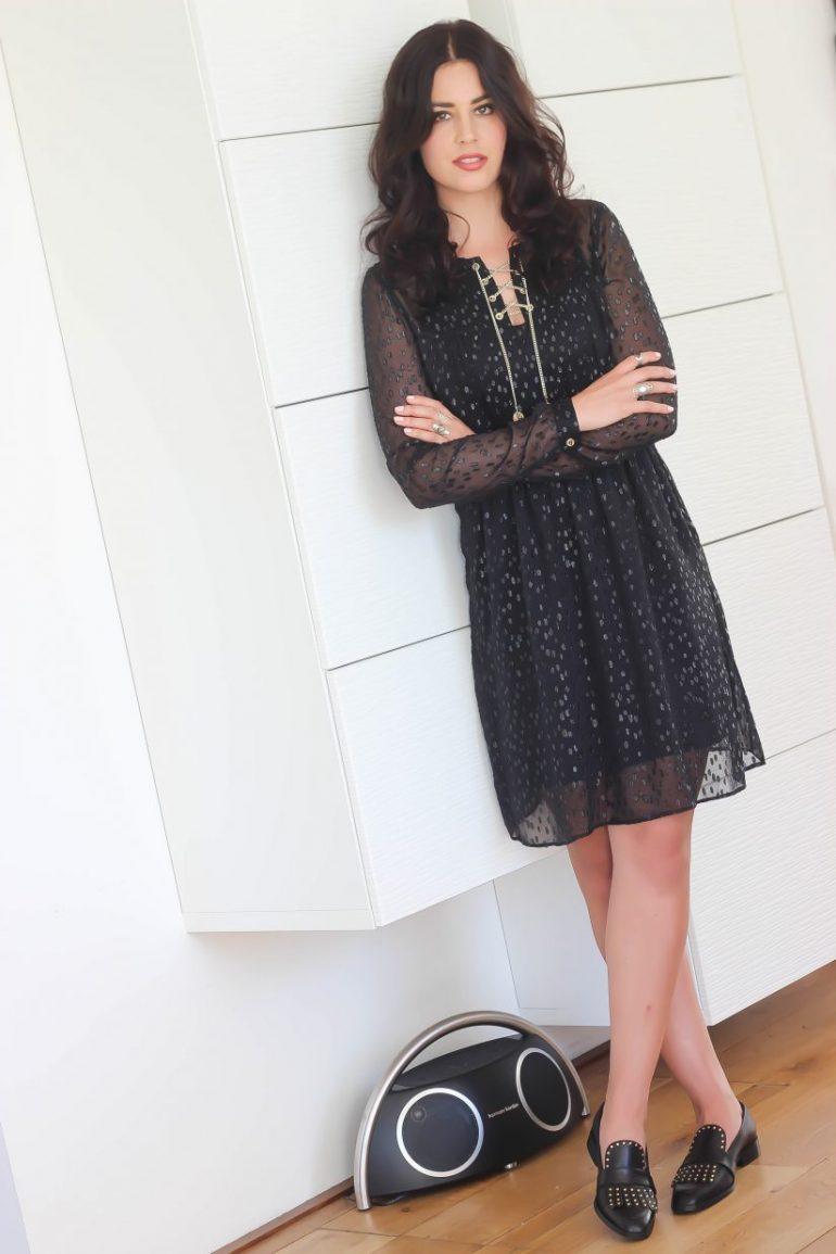Black midi dress Fashion Container Fashion and Travel blog