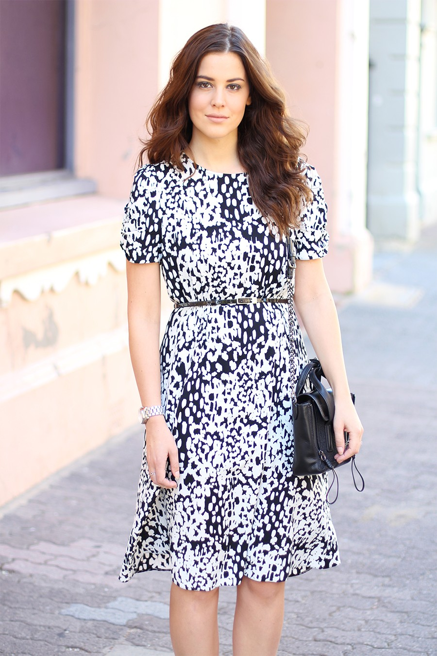 black-and-white-leopard-dress