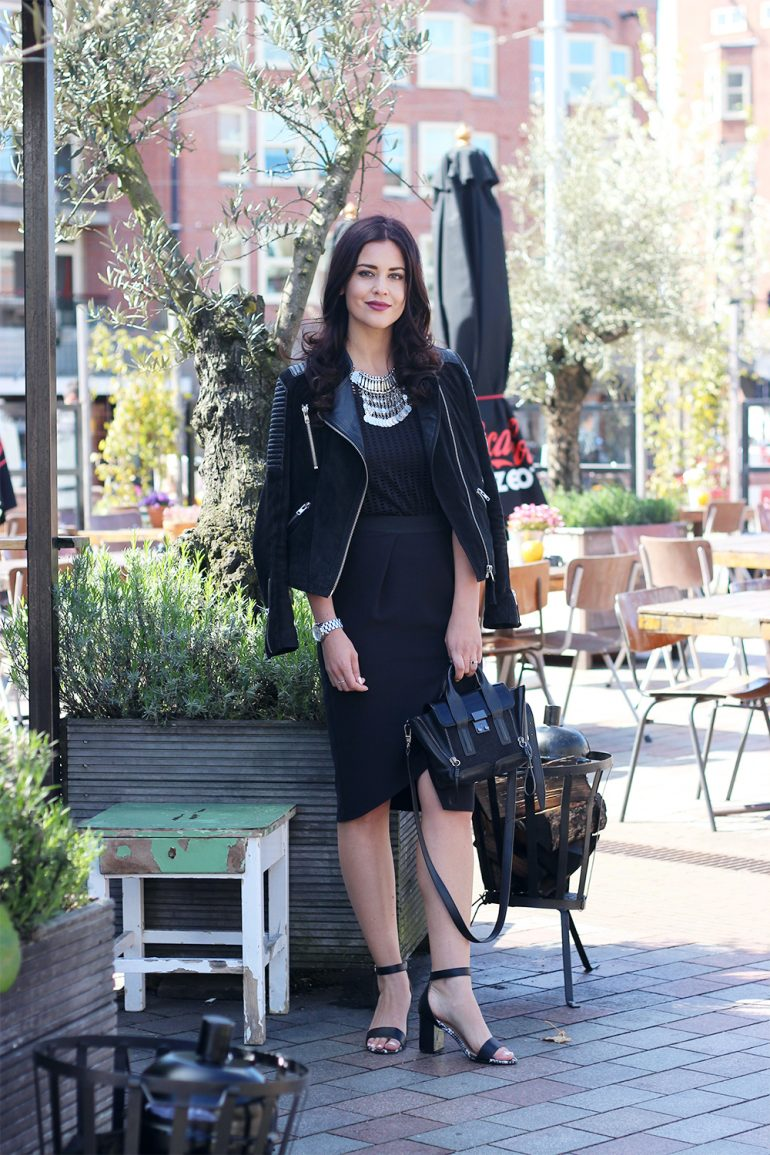 Wrap Pencil Skirt Fashion Container Fashion and Travel blog