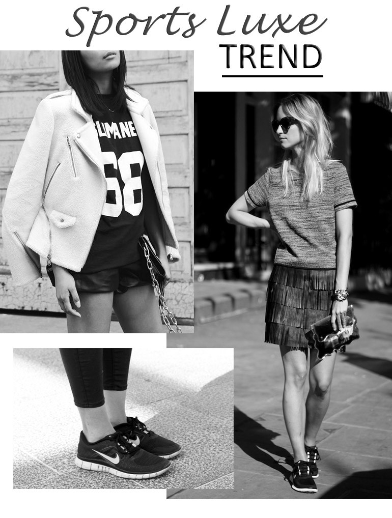 Sports Luxe Trend // How to wear